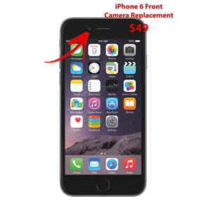 iPhone 6 Front facing camera