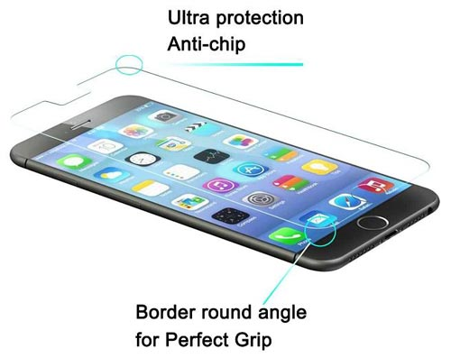 Tempered Glass iPhone 6 Plus Screen Protector